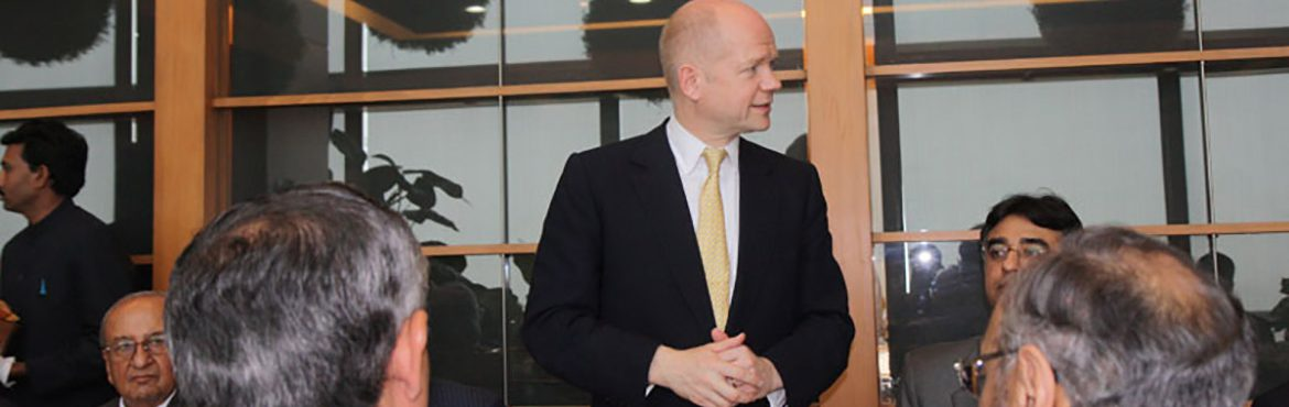 British Foreign Secretary Meets the Pakistan Business Council