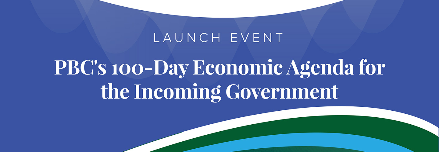 100-Day Economic Agenda for the Incoming Government