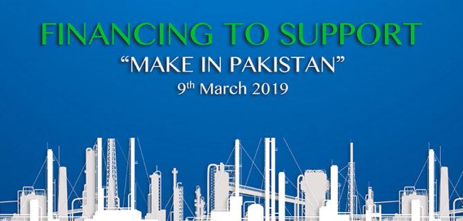 Financing Make in Pakistan