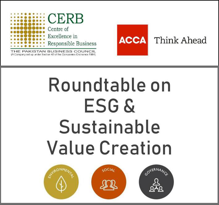 Roundtable on ESG & Sustainable Value Creation