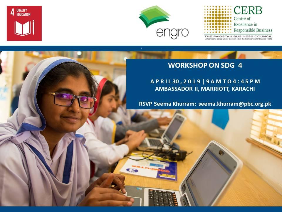Workshop on SDG 4